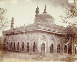 View of Shah Alam's Tomb from the south-east, Ahmadabad